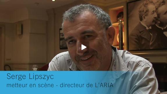 """Vidéo """"Une Laborieuse entreprise"""" / """"Juste la fin du monde"""" entretien avec S. Lipszyc"""