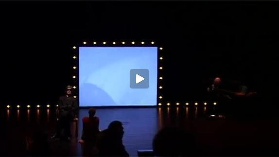 """Vidéo """"Et les poissons partirent combattre les hommes"""", moments de spectacle et de rép"""
