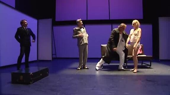 """Vidéo """"Maître Puntila et son valet Matti"""", m.e.s. G. P. Couleau, bande-annonce"""