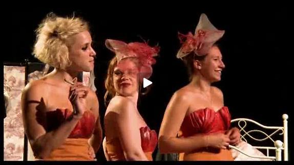 """Vidéo """"Cinq filles couleur pêche"""", bande-annonce"""