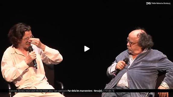 """Vidéo Jean-Michel Ribes, """"Par delà les marronniers"""", présentation"""