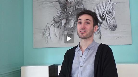 """Vidéo """"Ma Folle otarie"""" - Interview de Brice Hillairet pour Pianopanier"""