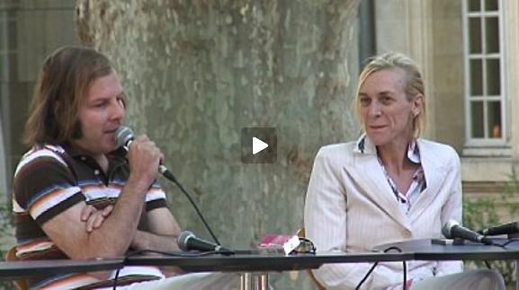 """Vidéo Mathilde Monnier et Philippe Katerine pour """"2008 vallée"""""""