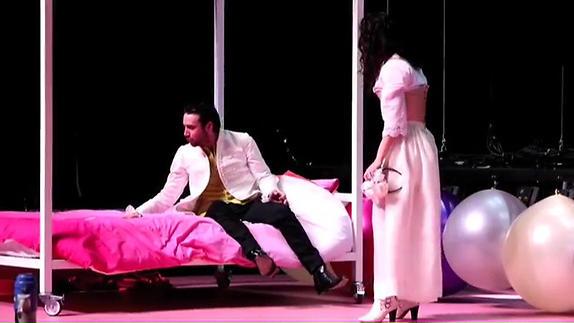 """Vidéo """"La Folle Journée ou le Mariage de Figaro"""", m.e.s. Rémy Barché - Extrait"""