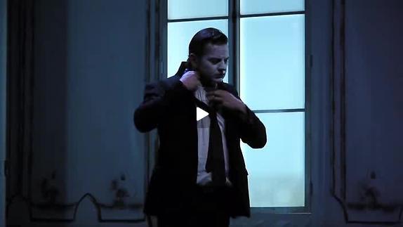 "Vidéo ""Hetero"" de Denis Lachaud mise en scène Thomas Condemine, extraits"