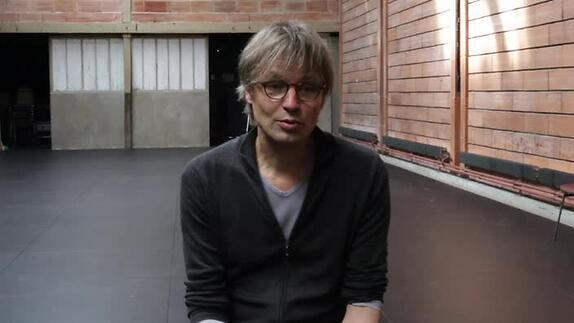 """Vidéo """"La Ménagerie de verre"""", présentation par Daniel Jeanneteau"""
