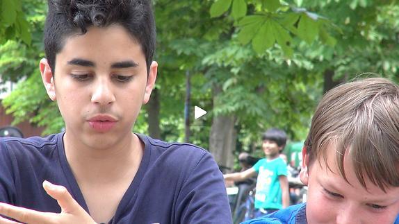 """Vidéo """"Une chambre en Inde"""", les conseils des collégiens avant la représentation"""
