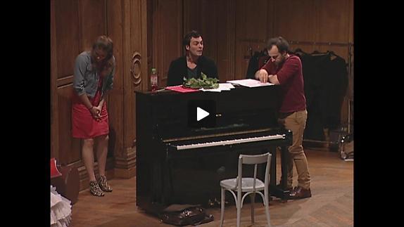"Vidéo Clément Hervieu-Léger - ""Impromptu 1663"" - extraits"