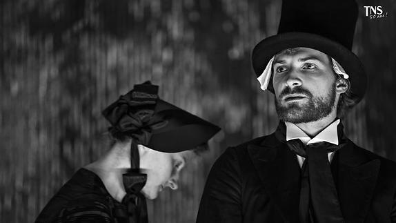 """Vidéo Claudel, """"Partage de Midi"""",  les costumes par Éric Vigner"""