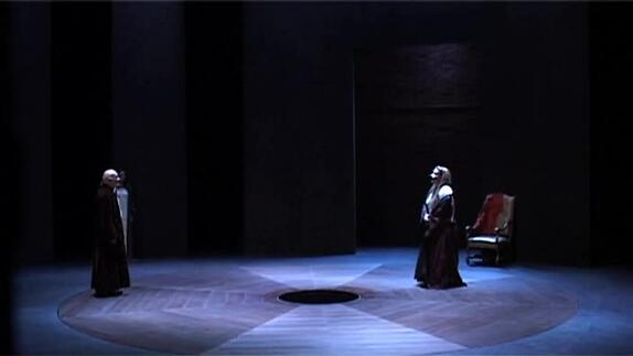 """Image du spectacle """"Britannicus"""" m.e.s. J.-L. Martinelli, bande-annonce"""