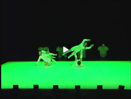 """Vidéo """"Arrêts de jeu"""" de Pierre Rigal, extrait (1/2)"""