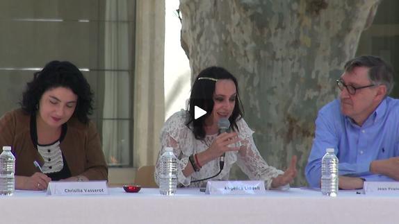 """Vidéo Angélica Liddell pour """"Ping Pang Qiu"""" et """"Todo el cielo sobre la tierra"""""""