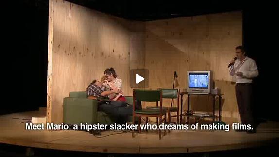 """Vidéo """"El pasado es un animal grotesco"""" de Mariano Pensotti, teaser"""