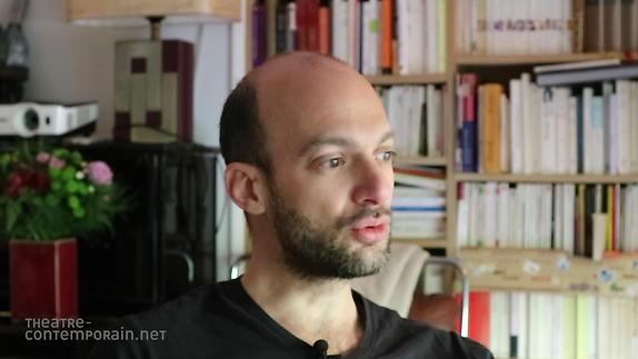 """Vidéo David Geselson, """"Le premier texte de Théâtre"""""""