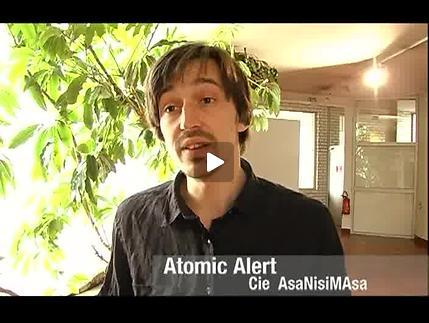 """Vidéo """"Atomic Alert"""", entretien avec Frédéric Sonntag"""