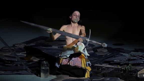 Vidéo Jeanne au bûcher - Extraits du spectacle