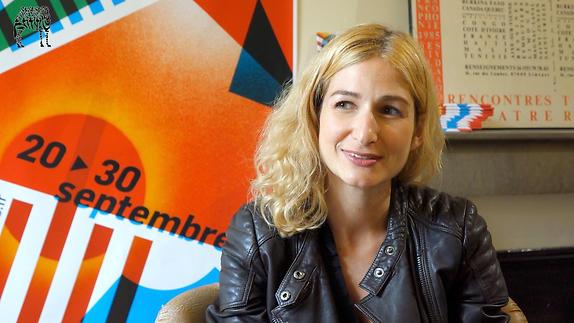 Vidéo Entretien avec Léonore Confino / 15e Prix Sony Labou Tansi des Lycéens 2017