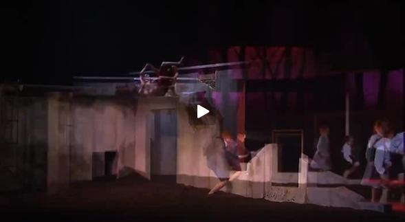 """Vidéo """"L'Eveil du printemps"""", m.e.s. Omar Porras, bande-annonce"""