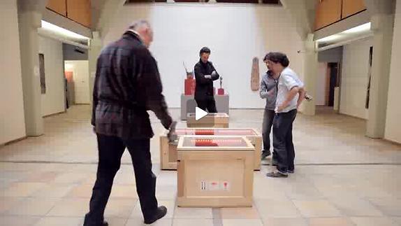 """Vidéo """"La famille du collectionneur"""", m.e.s. D. Bisconti, bande-annonce"""