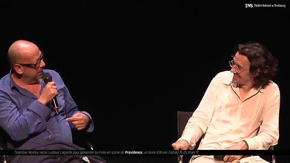 """Vidéo Ludovic Lagarde, """"Providence"""", présentation"""
