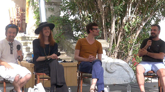 """Vidéo """"Romances Inciertos – Un autre Orlando"""", dialogue artistes-spectateurs"""
