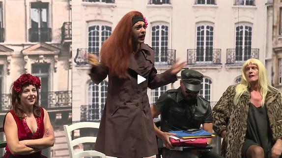 Vidéo Olivier Py - Les Parisiens - Extraits