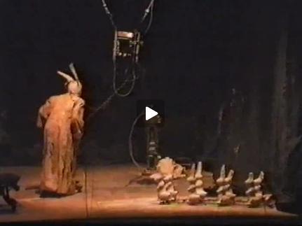 Vidéo L'orestie (une comédie organique ?) de Romeo Castellucci - Images de répétitions