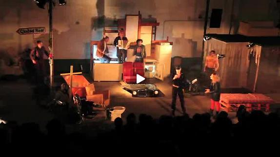 "Vidéo ""Le village en Flammes"" de R.W Fassbinder, m.e.s. Y. Dacosta, bande annonce)"