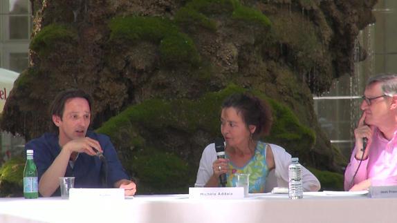 """Image du spectacle Michèle Addala et Gilles Robic pour """"La Parabole des papillons"""""""