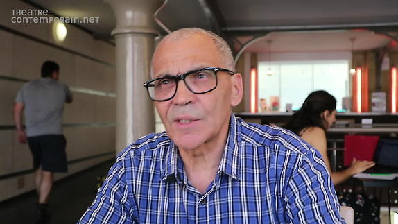 "Vidéo Ahmed Madani, ""F(l)ammes"", présentation"