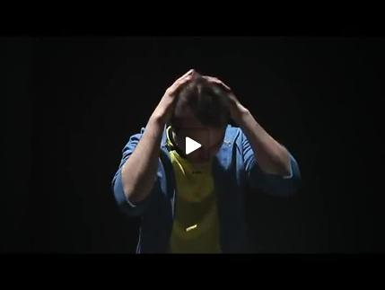 """Vidéo """"Hubert au miroir"""" de Dominique Richard, extraits"""