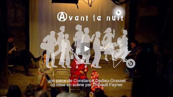 """Vidéo """"Avant la nuit"""", bande annonce"""
