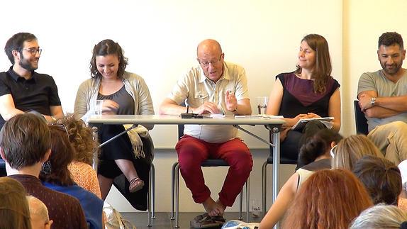 """Vidéo Table ronde animée par Jean-Pierre Ryngaert - """"Exils"""""""