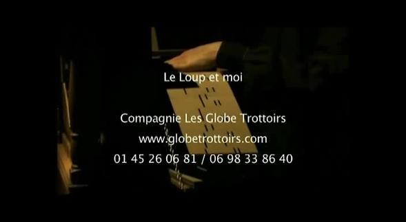 """Vidéo """"Le Loup et moi"""", spectacle jeune public, extraits"""