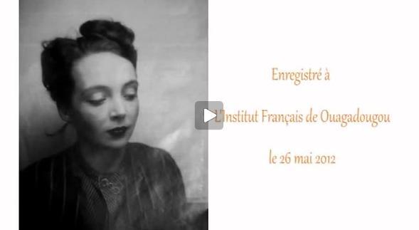 """Vidéo """"La Musica"""" de Marguerite Duras, m.e.s. Moïse Touré, extraits"""