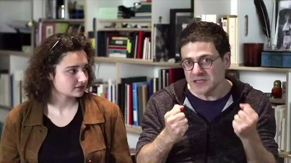 """Image du spectacle A Wajdi Mouawad : """"Pourquoi avoir choisi le français comme langue d'écriture"""""""