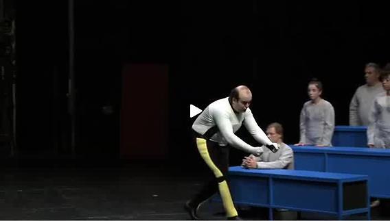 """Vidéo """"L'atelier volant"""", écriture et m.e.s. V. Novarina, bande-annonce"""