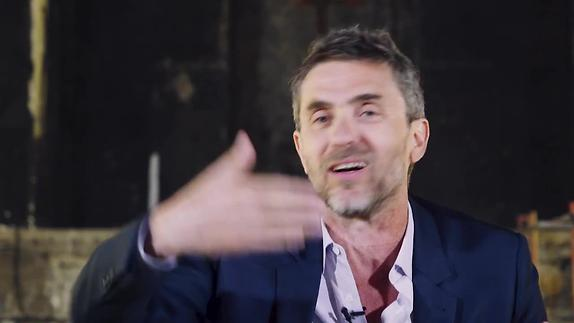 "Vidéo Pascal Rambert, ""Actrice"", présentation courte"
