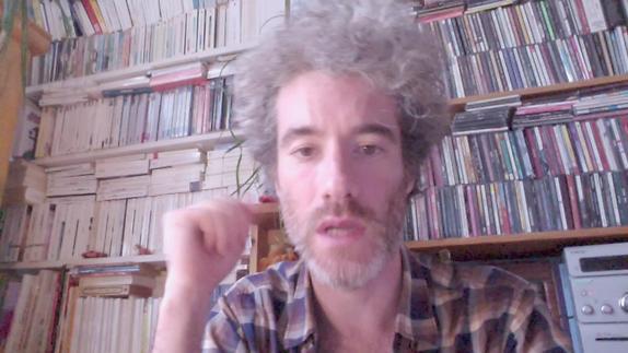 """Vidéo Stéphane Bientz à propos d'""""Hématome(s)"""" - Prix Jeunesse E.A.T 2018"""
