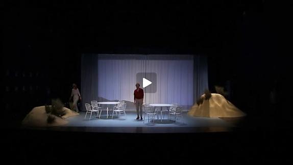 """Vidéo """"Un beau ténébreux"""", m.e.s. Matthieu Cruciani - Bande-annonce"""