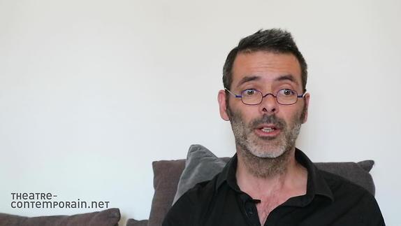 """Vidéo Sylvain Renard, """"Le premier texte de théâtre"""""""