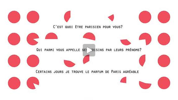"Vidéo ""100% Paris"" / Rimini Protokoll, teaser"