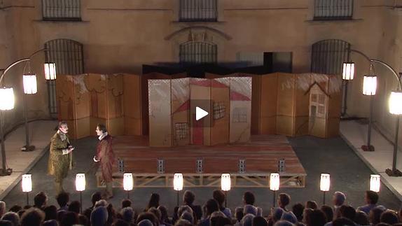 """Vidéo """"L'Ecole des femmes"""", m.e.s. C. Schiaretti, extraits"""