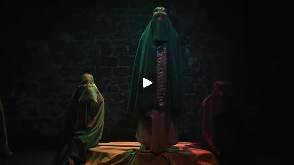 """Vidéo """"Perceptions"""" d'Aiat Fayez, m.e.s. D. Meyrieux - Bande-annonce"""