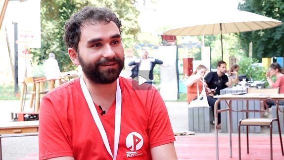"""Vidéo Entretien avec Guillaume Cabrera pour """"Love & Money"""""""