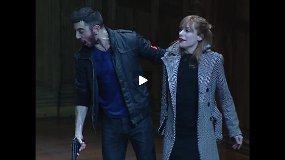 "Vidéo Yann-Joël Collin - ""Roberto Zucco"" - extraits"
