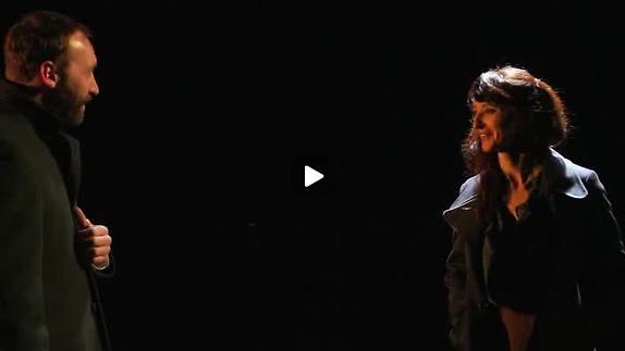 """Vidéo """"La femme gauchère"""" de P. Handke, m.e.s. C. Perton, extraits"""