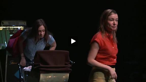 """Vidéo """"Woyzeck [Je n'arrive pas à pleurer]"""", m.e.s. de J.-P. Baro, bande-annonce"""