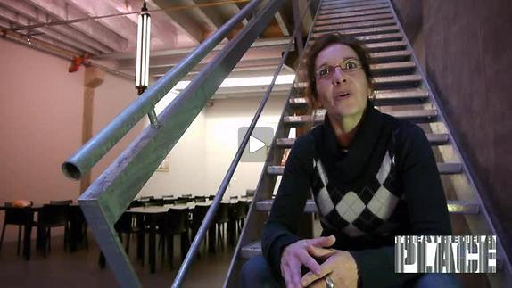 """Vidéo """"Quai Ouest"""", présentation par Isabelle Gyselinx"""