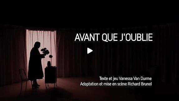"""Vidéo """"Avant que j'oublie"""" de Vanessa Van Durme, bande-annonce"""